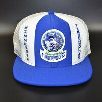 Minnesota Timberwolves AJD Lucky Stripes NBA Vintage 80's Snapback Cap Hat