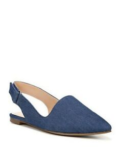 New Franco Sarto Sphinx Slingback Blue 10