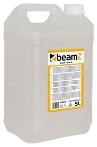Beamz FBL5 Profi Seifenblasenfluid Seifenblasen Fluid 5L BUBBLE-Liquid Kanister