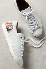 Howsty x Anthropologie Womens Zia Kilim Sneakers White 41 Euro (Women US 10) New