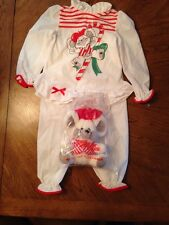 Vintage Peter Peppermint Mouse With Sleepwear Girls Pajamas Size 6 RARE ~ NEW