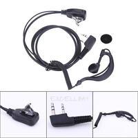2PIN Earpiece Mic Headset Mic PTT for BAOFENG UV5R 888S KENWOOD QUANSHENG PUXING