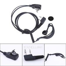 3.5mm Jack 2-PIN Ear-Hook Earpiece Headset for Kenwood Puxing Wouxun Baofeng New