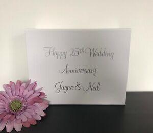 Luxury Personalised Magnetic Wedding Anniversary Gift Box, Anniversary Gift Box