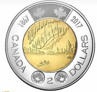 2017 $2 Coin Dance Of The Spirits 150th Anniversary Of Canada.