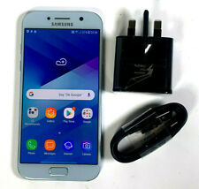 Samsung Galaxy A5 2017 32GB UNLOCKED BLUE Sim Free GOOD CONDITION GRADE B 357