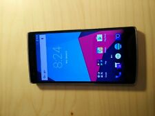 OnePlus One - 64GB - Sandstone Black Unlocked (audio jack not working)