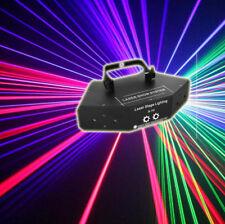 7CH DMX 6 Len RGB Beam Optical Network Laser Light Home Party DJ Stage Lighting