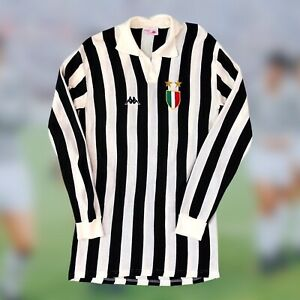 Juventus 1982/83 Home Soccer Jersey Kappa Serie A Camiseta Futbol Vintage