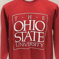 The Ohio State University Vintage 90s Mens XL Sweatshirt 50/50 Columbus