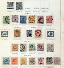 SWEDEN 1855/1887 Used on Page(Apprx 20+ Items) ZZ03