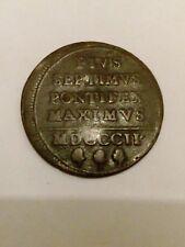 PIUS VII 2 BAIOCCHI 1802