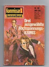 Kommissar X Sammelband Nr. 145  von 1976