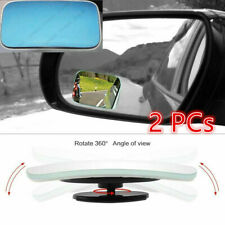 Blue Blind Spot Mirrors With Wide Angle Rear View Fit For Toyota Corolla RAV Cam