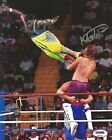 Koko B Ware Signed WWE 8x10 Photo PSA/DNA COA w/ Owen Hart High Energy Picture
