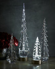 "SIMON PEARCE Evergreen Glass Trees 20"" Evergreen Glass Tree  only"