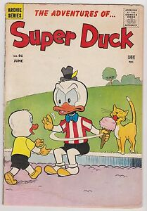 Super Duck  #91, Very Good Condition