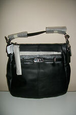 NWT Coach Chelsea Leather Ashlyn Hobo Black F17816 Below $298 Retail RARE FIND!