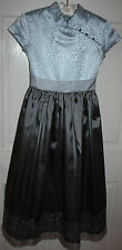 NWT Girls American Girl Silver Belle Dress Size 12