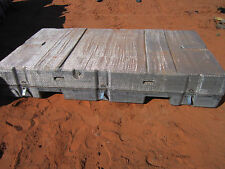 """Lifetime Expandable Storage Container 96""""x52""""x16"""" With Wheels Price Reduced!"""