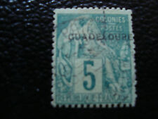 GUADALUPE - sello yvert y tellier nº 17 matasellados (A8) stamp