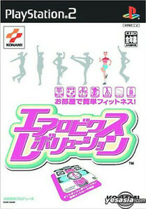 NEW & SEALED Aerobics Revolution (KONAMI 2003 JAPAN) Sony Playstation 2 Rare PS2