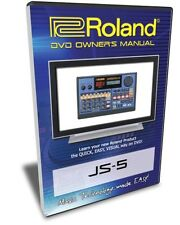 Roland (Boss) JS-5 DVD Video Training Tutorial Help