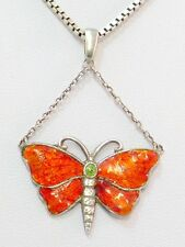 Charles Horner Schmetterling Anhänger Sterling Enamel Butterfly Pendant um 1915