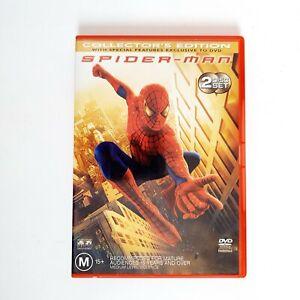 Spider Man Movie DVD Region 4 AUS Free Postage Marvel - Tobey Maguire
