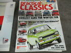Practical classics magazine,feb 2006,mk1 escort,tr2,bmc1100,bmw 3 series,saab