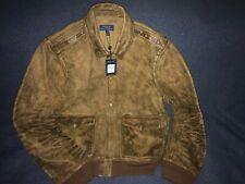 Polo Ralph Lauren Distressed Leather A-2 Flight Jacket XXL NEW