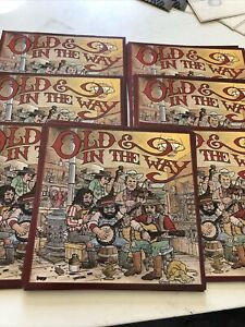 """Old & In The Way Lot Of 70 Cards 5""""x5"""""""