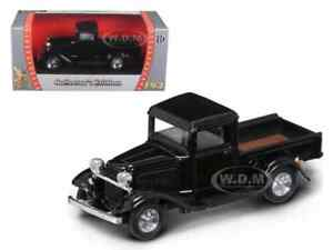 1934 FORD PICKUP TRUCK BLACK 1/43 DIECAST MODEL CAR BY ROAD SIGNATURE 94232