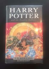 Harry Potter and the Deathly Hallows UK 1/1 HB Signed by Multiple Cast AFTAL 113