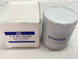 92142006 V8 NEW OIL FILTER HOLDEN 5.7 VN VP VR VS VT VX VU VY VZ LS1 GEN3