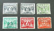 Netherlands-1941-Flying Dove issues-Used