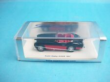 Spark 1957 AUSTIN HEALEY A100/6  Red Black Cabriolet 1/64 S08011
