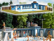 Busch 1433 Freibad mit viel Zubehör Bausatz Schwimmbad H0 Neu