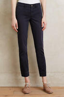 ANTHROPOLOGIE Pilcro Stet Mid Rise Chino Capris Pants NwT 28 6