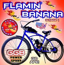 "66cc/80cc 2-Stroke Motorized Bike And 26"" Cruiser Bike For Motor Bicycle Diy"