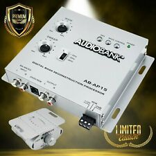 Audiobank Ap15 Digital Bass Processor, Crossover For Car Subwoofer Tuners w/Knob