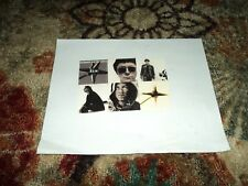 """REM """"Automatic For The People"""" Rare US Promo Only Sticker Sheet (Postcard Style)"""