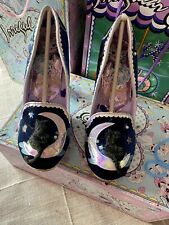 Irregular Choice Stars At Night Cat On Moon Perspex Heel Size 39 New In Box ✨