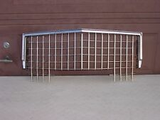 1971 CADILLAC DEVILLE FLEETWOOD GRILLE AND UPPER MOULDING VERY NICE