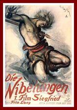 Die Nibelungen Siegfried     German Movie Posters Classic Vintage  Films