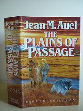 The Plains of Passage by Jean M. Auel. 1/2 HB Good Condition 1990