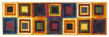 NEW Viva Murrine Tappeto, Sintetic , Multicolor , 57x180x13 cm