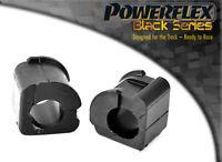 PFF85-205-22BLK Powerflex Front Anti Roll Bar Bushes Eibach 22mm BLACK 2 in Box