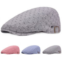 Unisex Men Women Thin Golf Driving Cap Travel Outdoor Adjustable  Beret Hat New