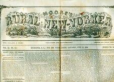 "Newspaper Dollie Dutton ""The Little Fairy"" Circus Freak Show Dwarf Midget 1860"